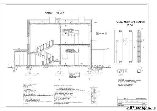 Схема расположения элементов перекрытия М 1:200 План 1-го этажа М 1:100 Схема расположения элементов фундамента М 1...