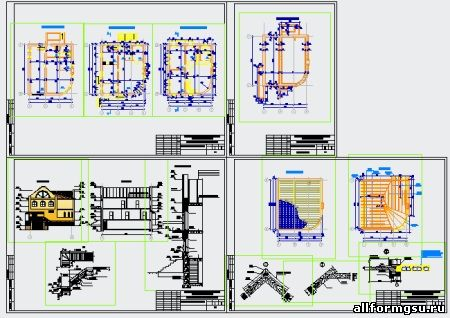 Курсовой проект 2 х этажный кирпичный