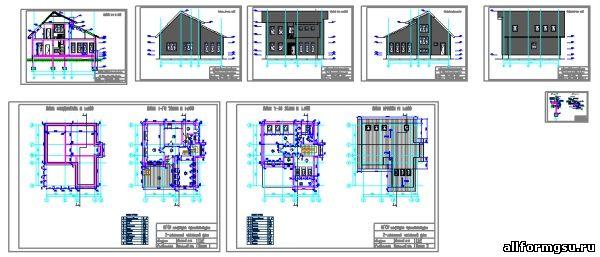 отопления этажного дома 23 схема